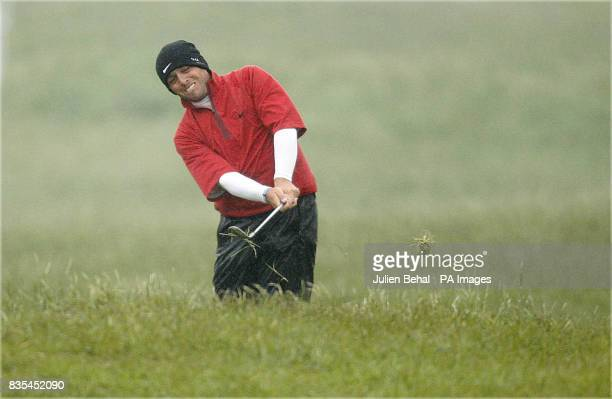 Italy's Francesco Molinari during the 3 Irish Open at County Louth Golf Club Baltray Ireland