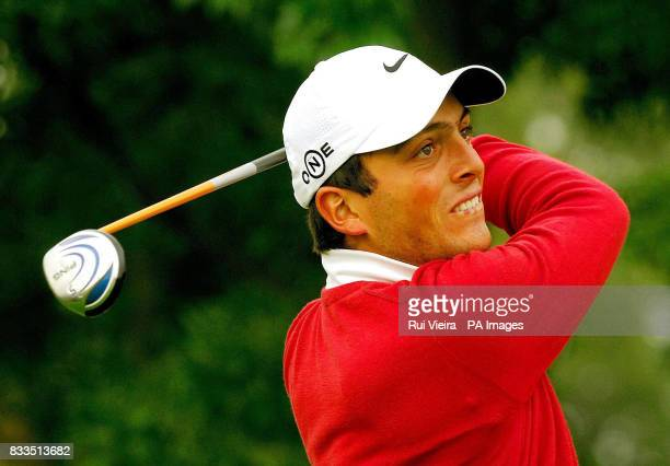 Italy's Francesco Molinari during the Quinn Direct British Masters at The Belfry Wilshaw Sutton Coldfield