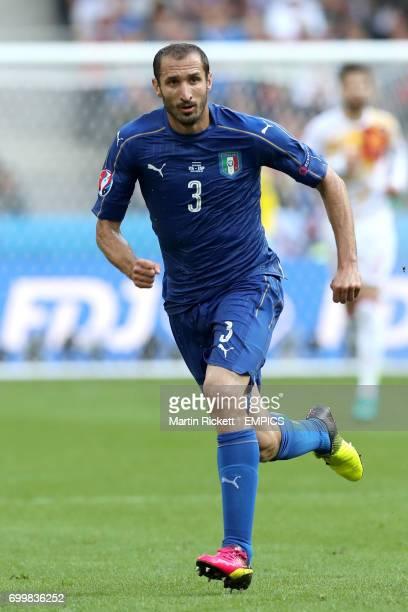 Italy's Giorgio Chiellini