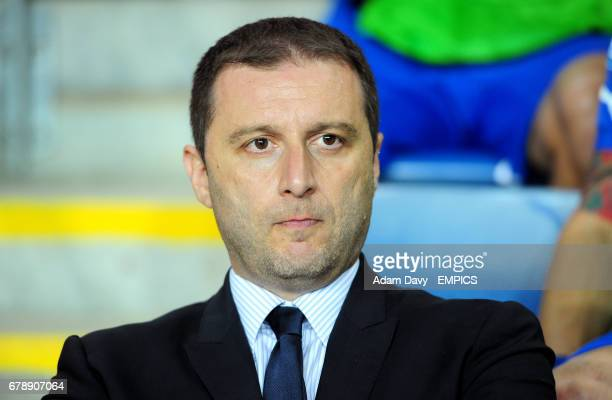 Italy's head coach Devis Mangia