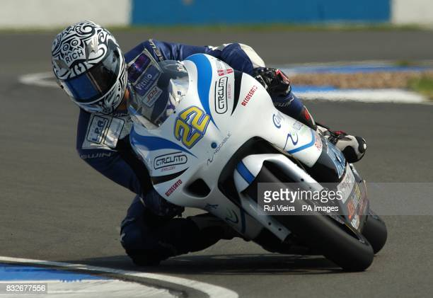 Italy's Luca Morelli during the 250cc race
