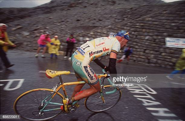 Italy's Marco Pantani during 15th stage of the 1998 Tour de France