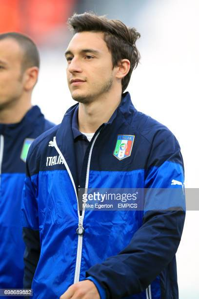 Italy's Matteo Darmian during the warm up