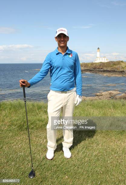 Italy's Matteo Manassero during a Practice Round at Turnberry Golf Club Ayrshire