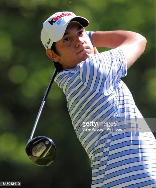 Italy's Matteo Manassero during day three of the BMW PGA Championship at Wentworth Golf Club Surrey