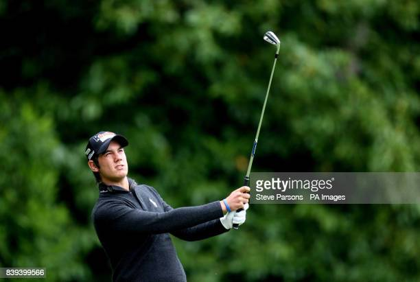 Italy's Matteo Manassero during the third round of the the BMW PGA Championship at Wentworth Golf Club Surrey