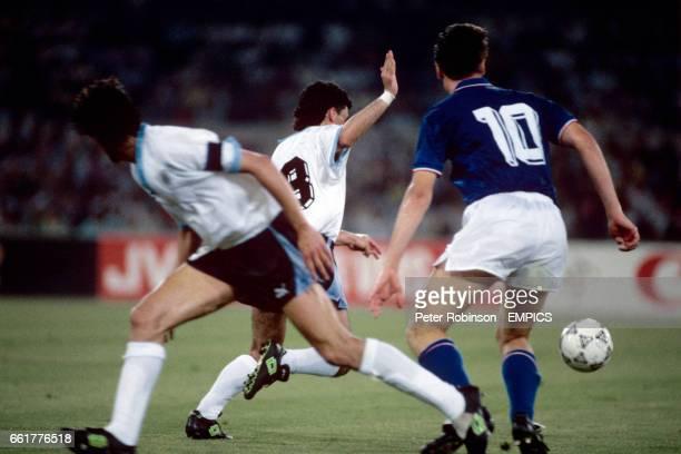 Italy's Nicola Berti in action