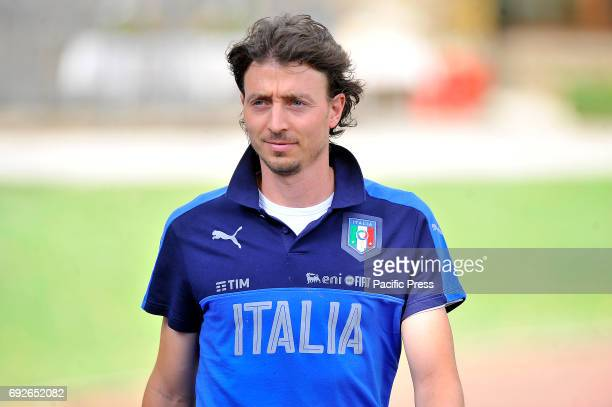 Italy's player Riccardo Montolivo during the training session at the Coverciano Training Center The Italian national team will face in a friendly...