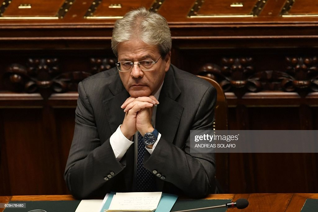 New Government of Paolo Gentiloni Looks To Secure Vote Of Confidence