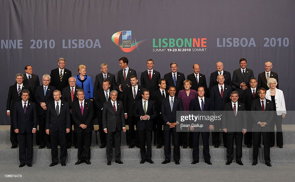 Italy's Prime Minister Silvio Berlusconi Latvia's President Valdis Zatlers Lithuania's President Dalia Grybauskaite Luxembourg's Prime Minister...