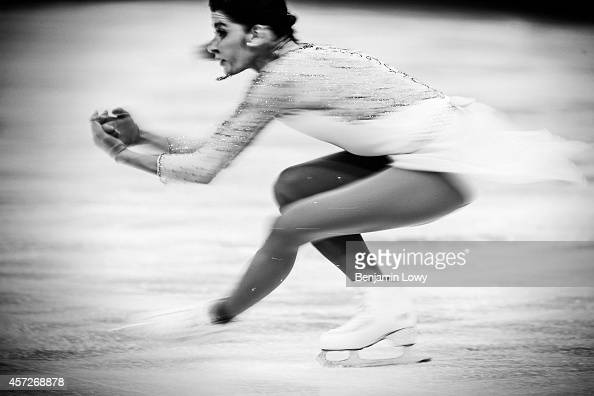 Italy's Valentina Marchei performs in the Women's Figure Skating Short Program at the Iceberg Skating Palace during the Sochi Winter Olympics on...