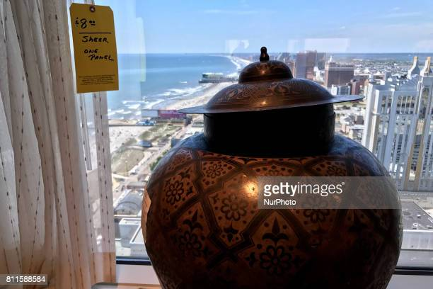 Items are tagged and priced inside as members of the public browse some of the 1250 hotel rooms on the third day of a liquidation sale at the former...