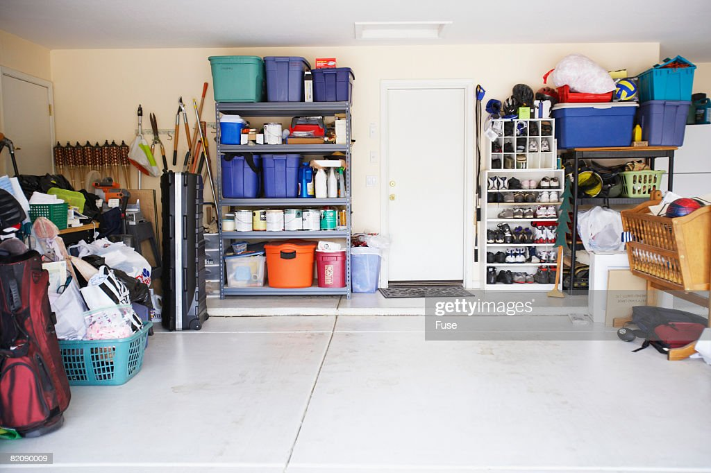 Items Inside of Garage