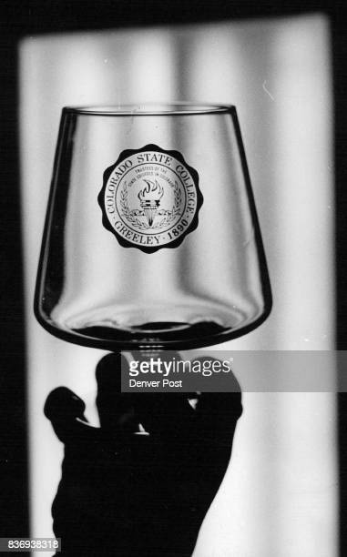 Items Like This Goblet are Now for Collectors Colorado State College name change to Northern Colorado University has forced glassware ceramic mugs...