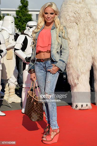 ItGirl GinaLisa Lohfink attends the 'Star Wars Identities' Exhibtion Press Preview VIP Opening at Odysseum on May 20 2015 in Cologne Germany