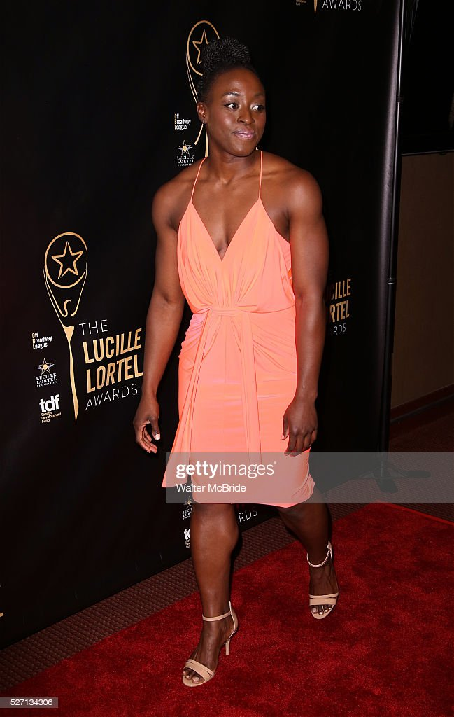 Ito Aghayere attends the 31st Annual Lucille Lortel Awards at NYU Skirball Center on May 1, 2016 in New York City.