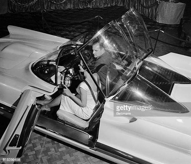 It's a car not a rocket ship you're looking at the revolutionary new Futura built by the LincolnMercury Division of Ford Motors and displayed at the...