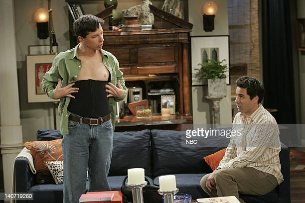 WILL GRACE 'It's a Dad Dad Dad Dad World' Episode 21 Pictured Sean Hayes as Jack McFarland Eric McCormack as Will Truman Photo by Paul...