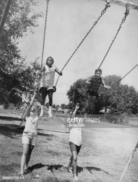 It's a Swingin and Friendly Group at North There are plenty of summer activities for both youngsters and young adults at the Martin Luther King Young...