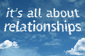 Its All About Relationships clouds