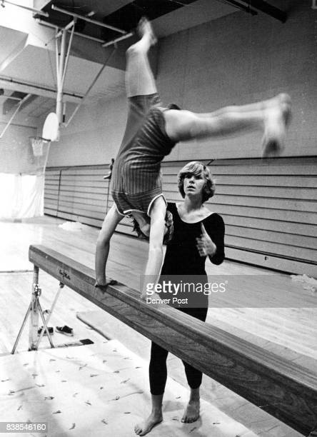 SEP 29 1971 OCT 6 1971 OCT 13 1971 'It's all in the mind and you can do it' Merry Miller assures Lisa Brown as the seventh grader accepts the...