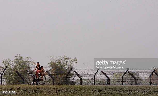 It's becoming more usual to build fences against poverty and Islamism This appears to be what India is doing building a fence along its border with...