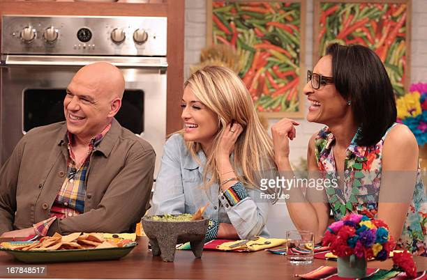 "THE CHEW It's fiesta time when ""The Chew"" hosts share easy and inexpensive party tips for Cinco de Mayo Chef Pati Jinich joins Mario in the kitchen..."