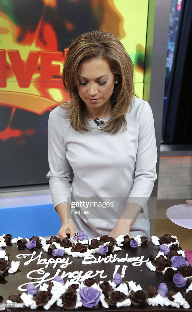 AMERICA - It's Ginger Zee's birthday on 'Good Morning America,' 1/13/14, airing on the ABC Television Network. (Photo by Heidi Gutman/ABC via Getty Images) GINGER ZEE