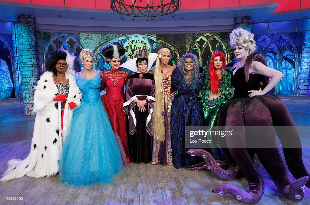THE VIEW Its good vs evil when ABC's Emmy�� Awardwinning talk show hosts 'A Villainous View Halloween' The famously fiendish face off against their...