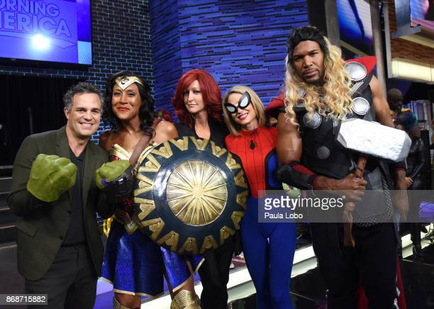 AMERICA It's Halloween on 'Good Morning America' Tuesday October 31 airing on the ABC Television Network MARK