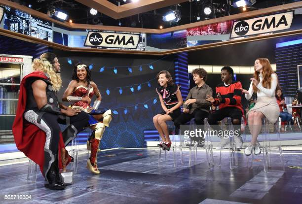 AMERICA It's Halloween on 'Good Morning America' Tuesday October 31 airing on the ABC Television Network MICHAEL