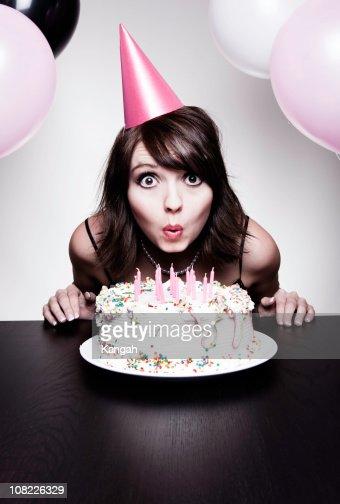 It's My Birthday! : Stock Photo