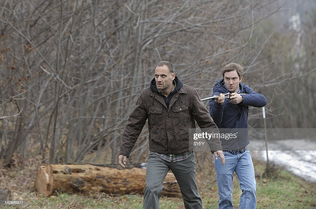 HUMAN -- 'It's My Party and I'll Die if I Want To' Episode 213 -- Pictured: (l-r) Andreas Apergis as Ray, <a gi-track='captionPersonalityLinkClicked' href=/galleries/search?phrase=Sam+Huntington&family=editorial&specificpeople=546776 ng-click='$event.stopPropagation()'>Sam Huntington</a> as Josh --