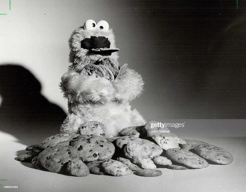 It's no wonder little people identify with the Cookie Monster