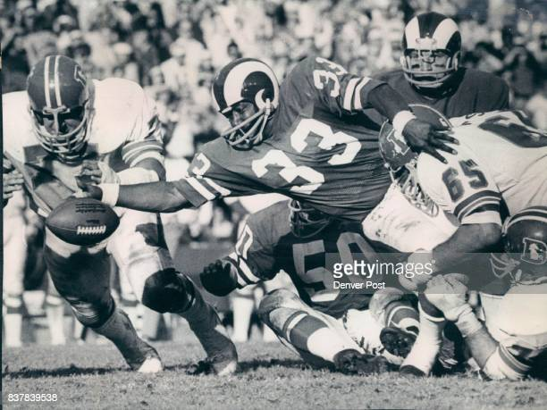 It's Safe To Say That Denver Linemen Had This Situation Well In Hand While it appears that Denver's Lyle Alzado is about to pounce on this fumble by...