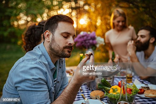 It's so nice and tender : Stock Photo