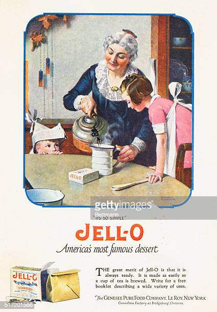 'It's So Simple' JELLO America's most famous dessert The great merit of JellO is that is is always ready It is made as easily as a cup of tea is...