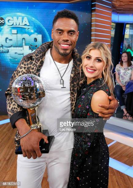 AMERICA It's the 'Dancing with the Stars' after party on 'Good Morning America' Wednesday May 24 airing on the ABC Television Network RASHAD
