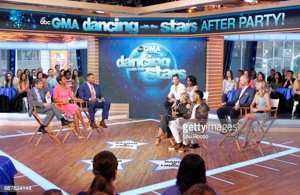 AMERICA It's the 'Dancing with the Stars' after party on 'Good Morning America' Wednesday May 24 airing on the ABC Television Network GEORGE