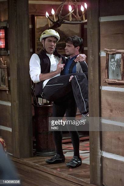 WILL GRACE 'It's the Gay Pumpkin Charlie Brown' Episode 5 Pictured Eric McCormack as Will Truman Jason Marsden as Kim Photo by NBCU Photo Bank