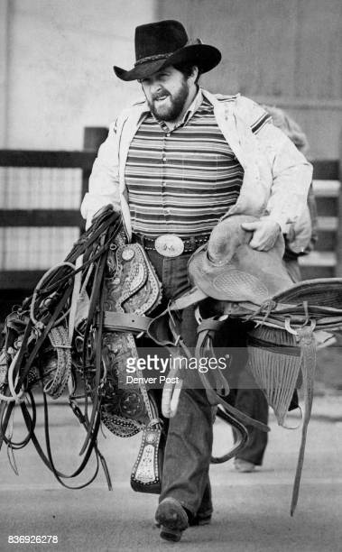 It's Time to Hit the Trail Again John Bilby helps his friends pack up at the National Western Stock Show before heading home to Bridgeport Neb The...