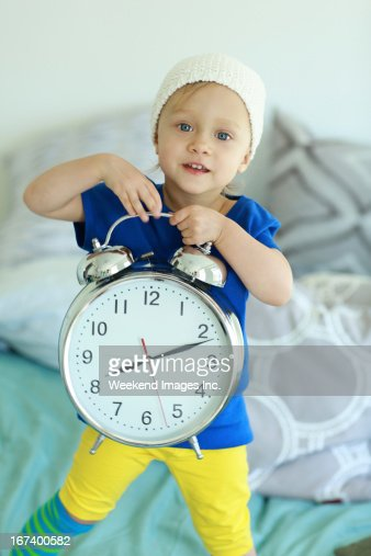 It's time to wake up : Stockfoto