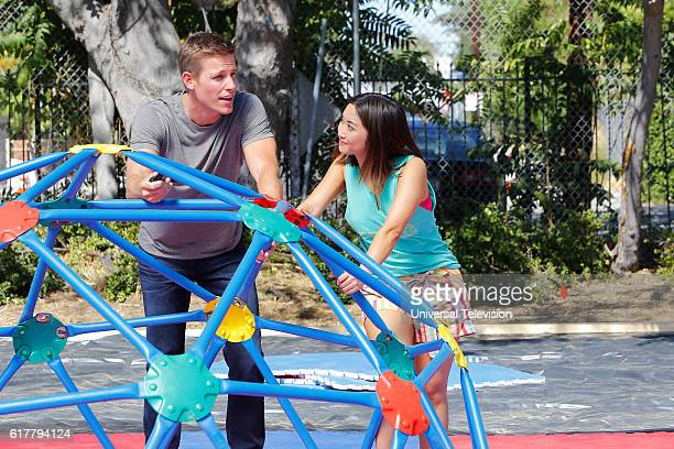 GENIUS 'It's Your Friendly Neighborhood Spider Silk Surgery' Episode 103 Pictured Ward Horton as Dr Scott Strauss Brenda Song as Angie Cheng