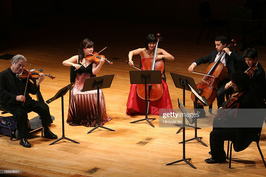 Itzhak Perlman and members of the Perlamn Music Program performing at the Metropolitan Museum on Saturday night October 3 2009This imageClockwise...