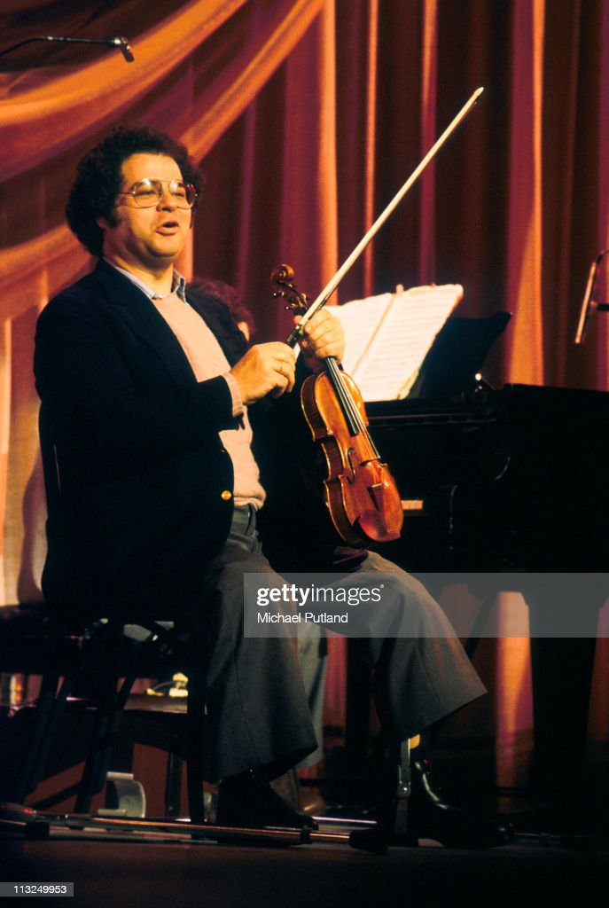 <a gi-track='captionPersonalityLinkClicked' href=/galleries/search?phrase=Itzhak+Perlman&family=editorial&specificpeople=593397 ng-click='$event.stopPropagation()'>Itzhak Perlman</a> performs on stage at the Royal Variety Performance, Theatre Royal, Drury Lane, London, 17th November 1981.