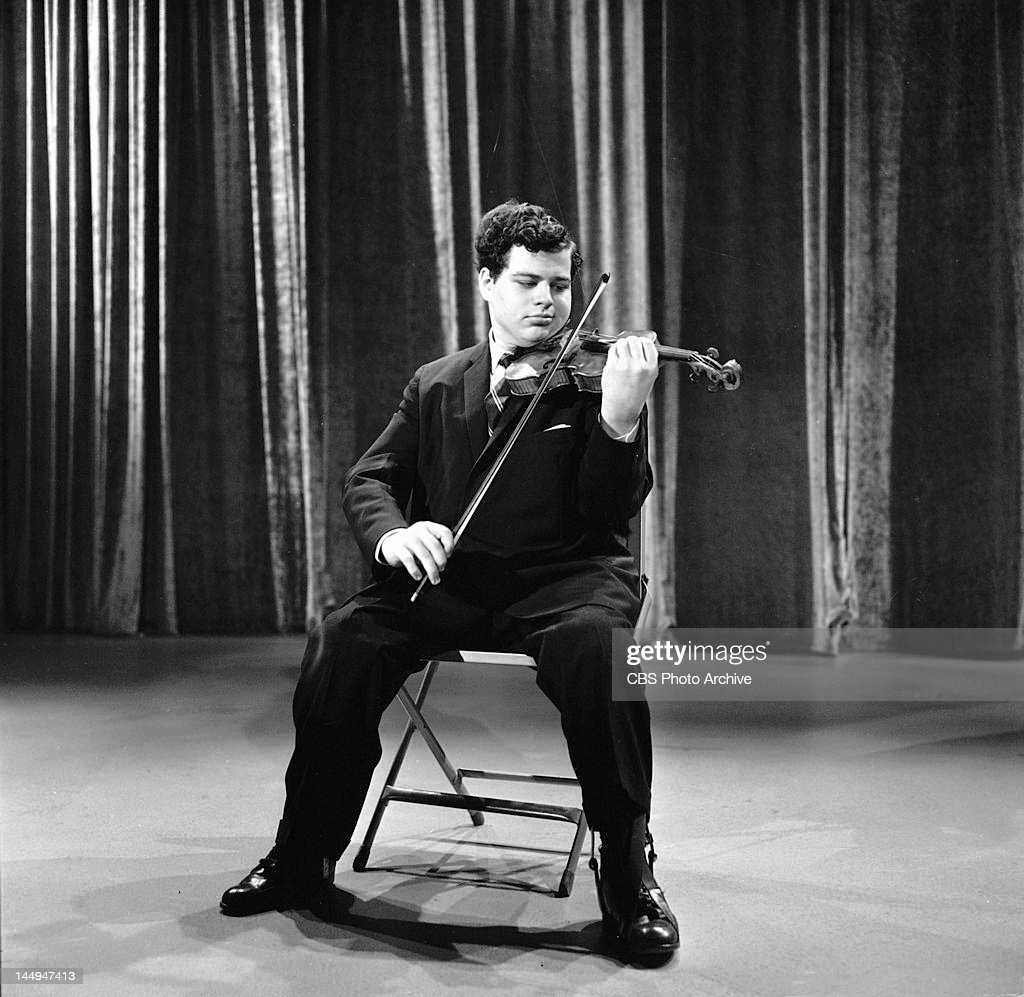Itzhak Perlman performs on THE ED SULLIVAN SHOW Image dated May 10 1964