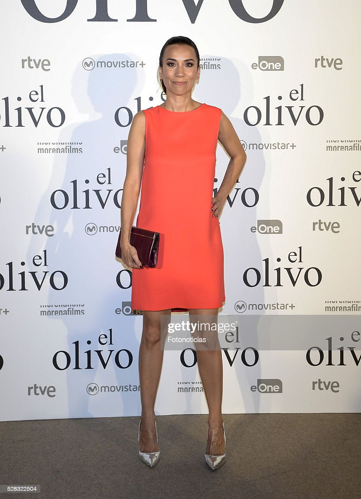 Itziar Miranda attends the premiere of 'El Olivo' at the Capitol cinema on May 4, 2016 in Madrid, Spain.