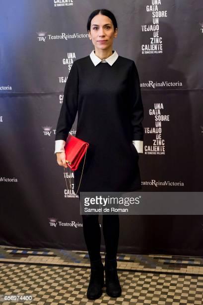 Itziar Miranda attends 'Una Gata Sobre Un Tejado de Zinc Caliente' Madrid Premiere on March 23 2017 in Madrid Spain