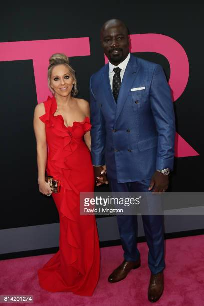 Iva Colter and Mike Colter attend the premiere of Universal Pictures' 'Girls Trip' at Regal LA Live Stadium 14 on July 13 2017 in Los Angeles...