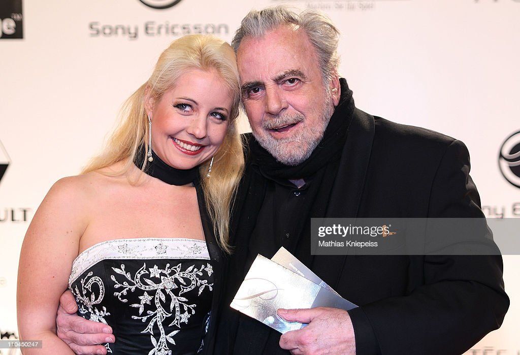 Iva Mihanovic and <a gi-track='captionPersonalityLinkClicked' href=/galleries/search?phrase=Maximilian+Schell&family=editorial&specificpeople=236064 ng-click='$event.stopPropagation()'>Maximilian Schell</a> attend the 2nd Orange Filmball Vienna at the Townhall on March 18, 2011 in Vienna, Austria.